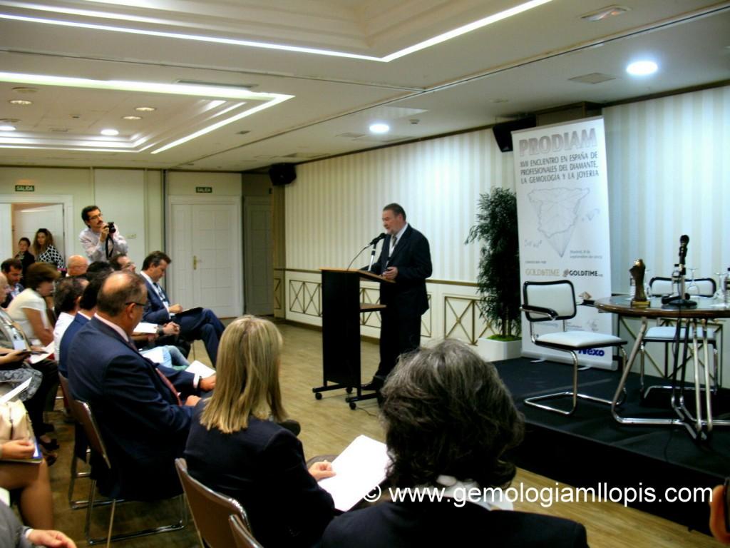 Presentación del Encuentro PRODIAM 2015 por Don Carlos Ortíz