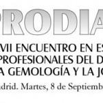 Nueva cita en PRODIAM 2015 en Hotel Mayorazgo Madrid