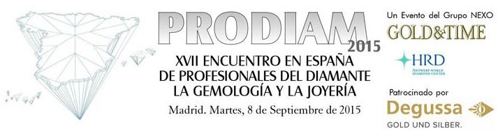 Prodiam 2015 Encuentro de Gemólogos y Joyeros