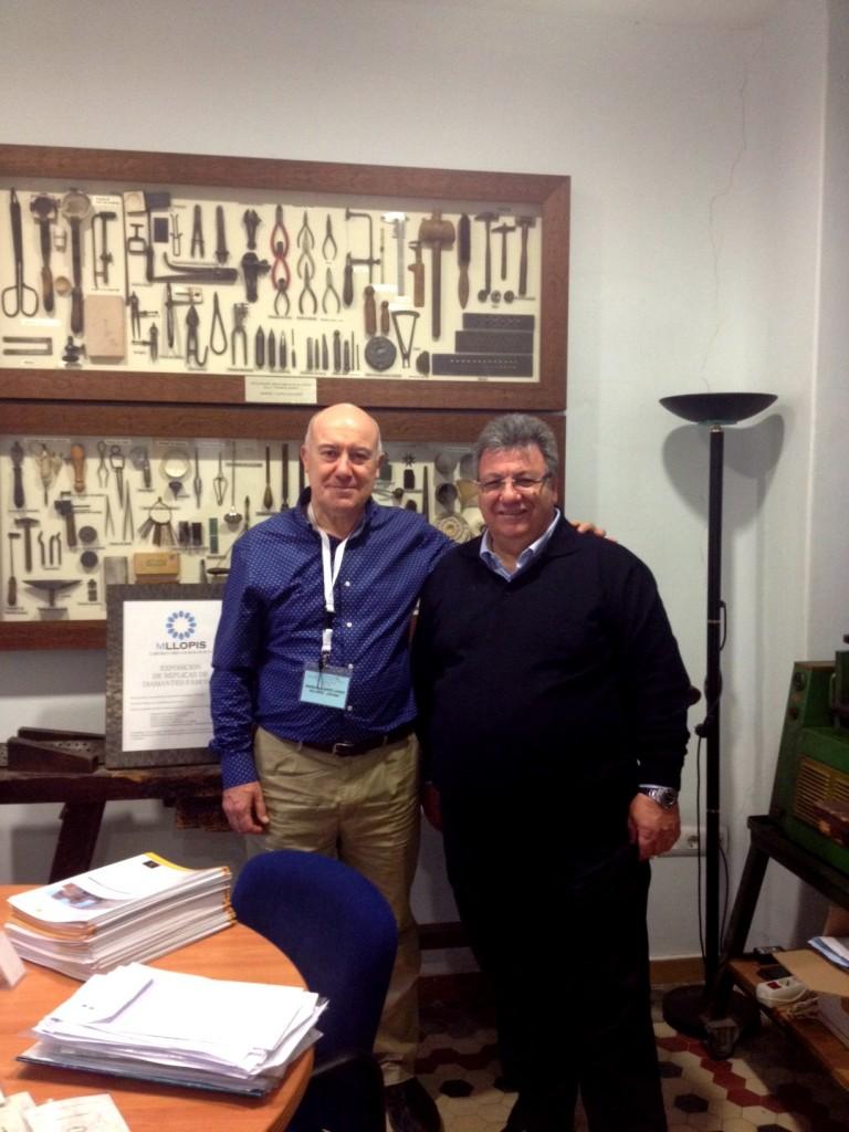 Dr. Gaetano Cavalieri visita MLLOPIS