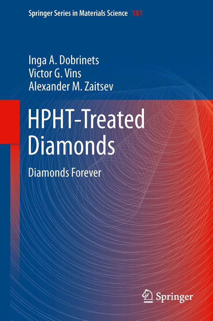 HPHT-Treated Diamonds escrito por Dobrinets, Victor y Zaitsev