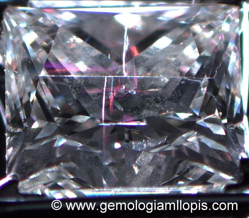 diamante princesacon redlleno de vidrio