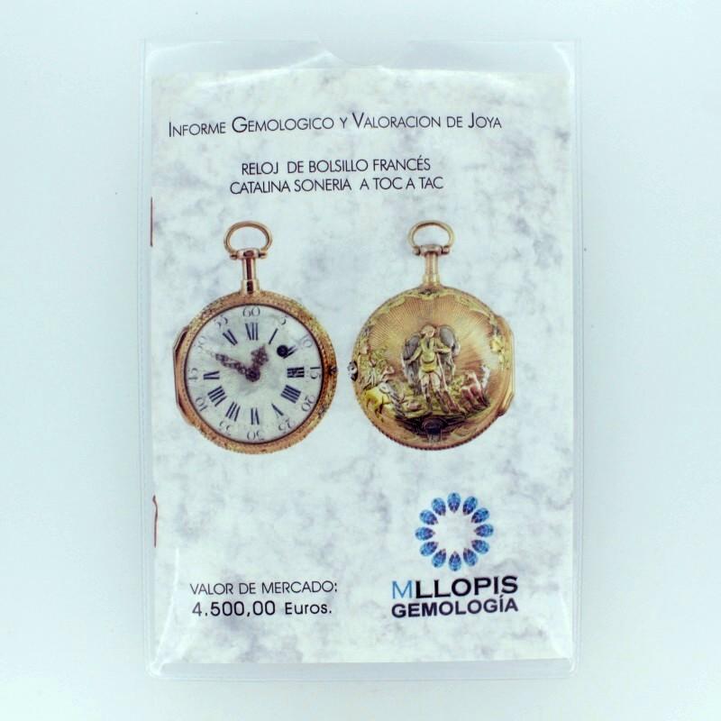 info y valor reloj bolsillo antiguo 1