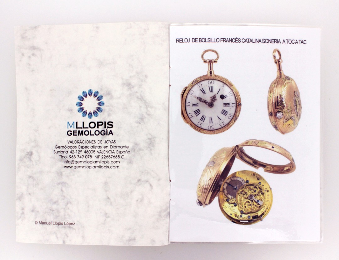 info y valor reloj bolsillo antiguo interior 1