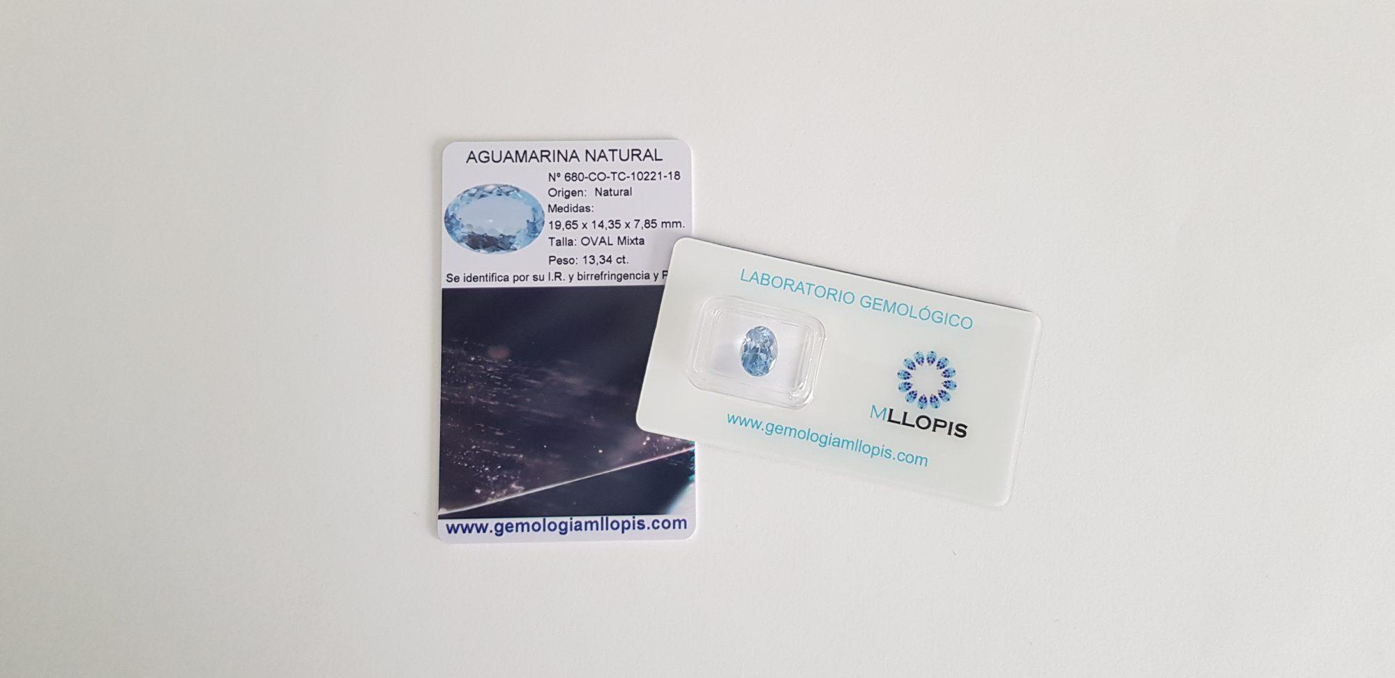 Certificado de gemas